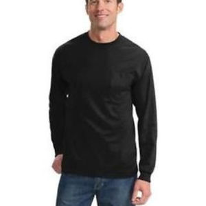 Tall Long Sleeve Essential Pocket Tee Thumbnail