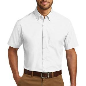 Short Sleeve Carefree Poplin Shirt Thumbnail