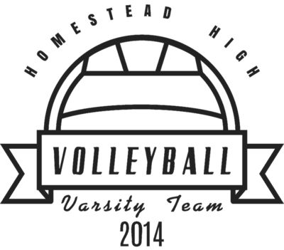 Volleyball Template DNT001 BW