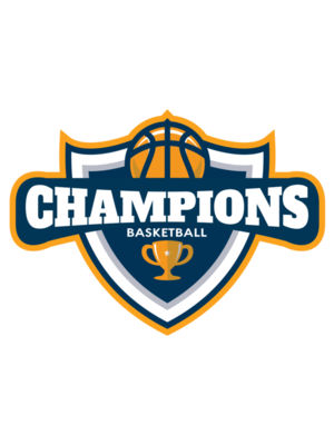 Champions Basketball League logo template