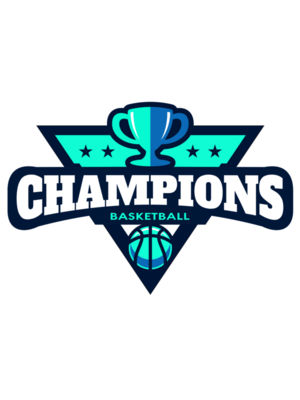 Champions Basketball League logo template 02
