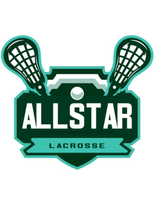 All stars Lacrosse Logo Template