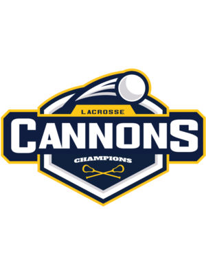 Cannons Champions Lacrosse Logo Template