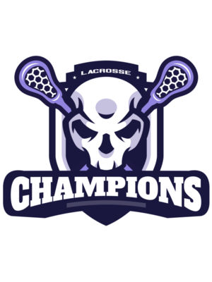 Champions Lacrosse Logo Template 02