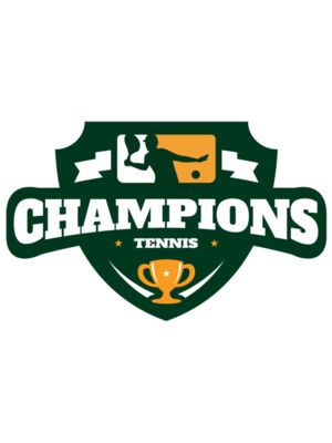 Champions Tennis logo template